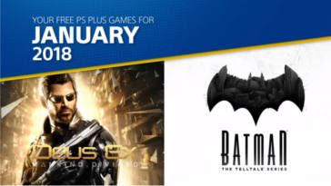 FREE PlayStation Plus Games for January 2018 on http://www.canadafreebies.ca/