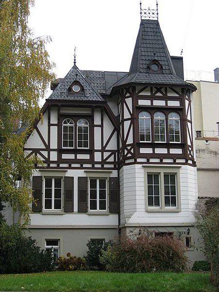 Пример дома в немецком стиле