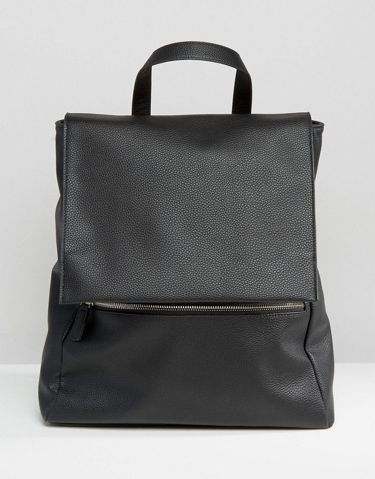 Image 1 of ASOS Zip Front Square Backpack 279,99,-