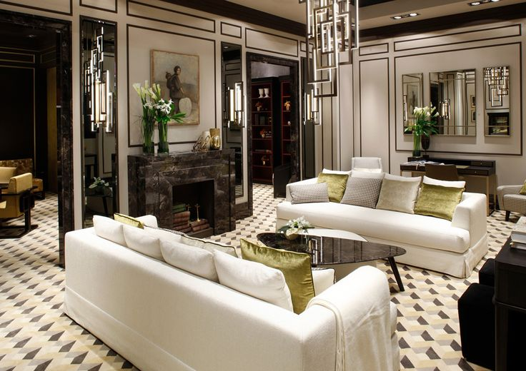 Two Brando sofas by Oasis, coffee table and ottoman Andrè, also by Oasis.