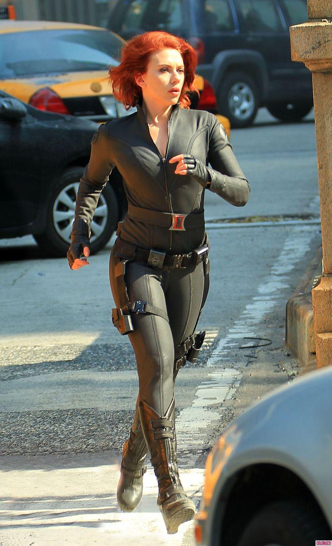 Black Widow - Scarlett Johansson - The Avengers