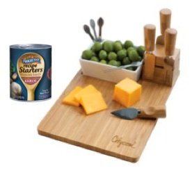 Game Day Snack Recipe and Meal Ideas with Progresso Recipe Starters — #MyBlogSpark Prize Pack Giveaway
