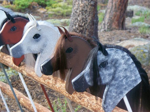 Arabian Stick Horse by MJMRanch on Etsy, $35.00