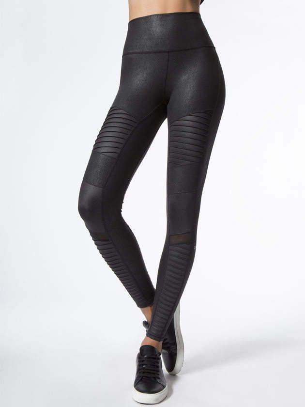 1dc4856eae060 ALO YOGA High-Waist Moto Legging #leggings #fitness #activewear #aloyoga #
