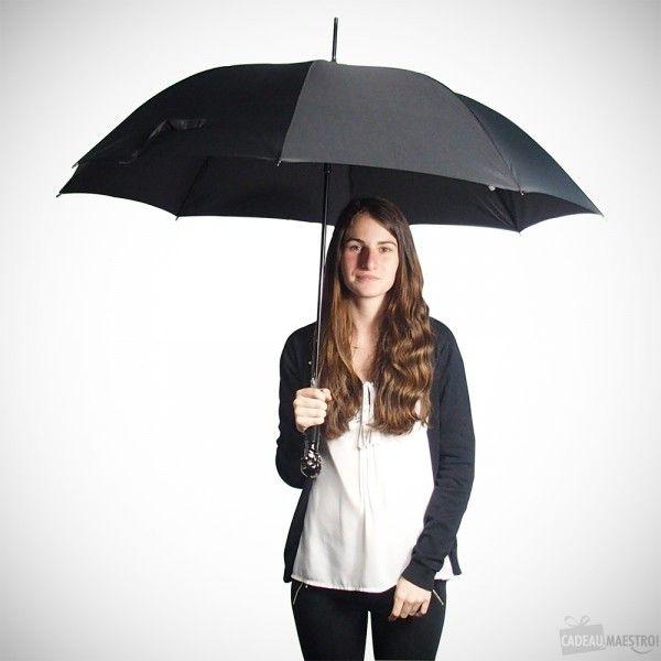 Grand Parapluie Tête de Mort LED #parapluie #umbrella #skull #skulls