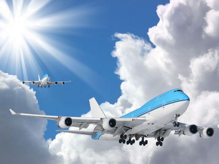 воздух, авиация, фото, обои, небо, самолёты, солнце, полёт, облака 1400 x 1050