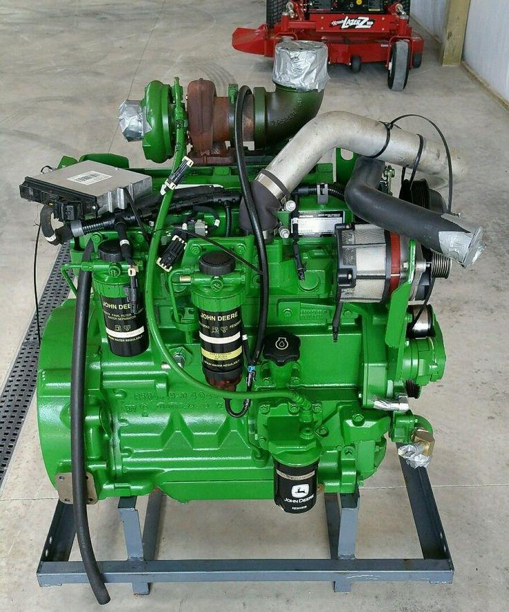 John Deere 4045HE050 93KW Turbo Diesel Engine 125HP A400 PowerTech