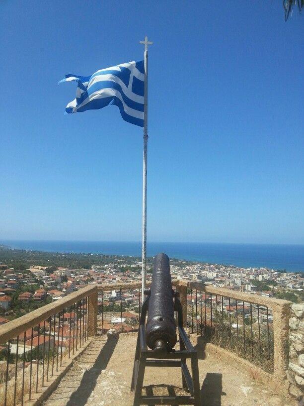 Κάστρο Κυπαρισσίας (Kyparissia Castle) in Κυπαρισσία, Μεσσηνία