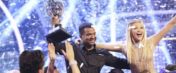 Alfonso Ribeiro Wins 'DWTS' With One Final Carlton Dance