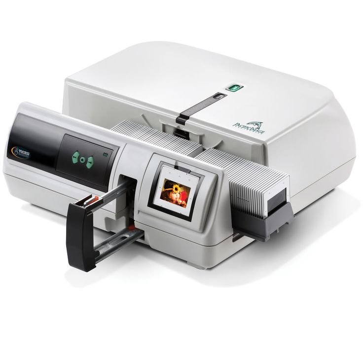 The Professional's Image Restoring Digital Slide Converter - Hammacher Schlemmer - This is the scanner that converts and restores 35mm slide images to their original quality.