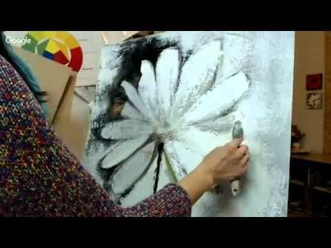 Base of Art - Альтернатива росписи стен и фресок. Интерьерная живопись. Секреты мастеров 19.11.2015 - YouTube