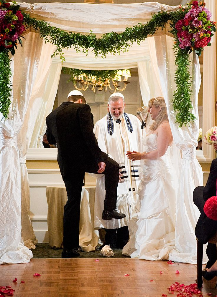 113 best jewish wedding ideas images on pinterest wedding once the rabbi completes his reciting the final step of the wedding takes place as the chattan steps on a glass to officially mark the marriage junglespirit Choice Image