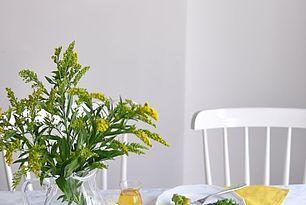 Makaron z pesto z rukoli i szynką parmeńską