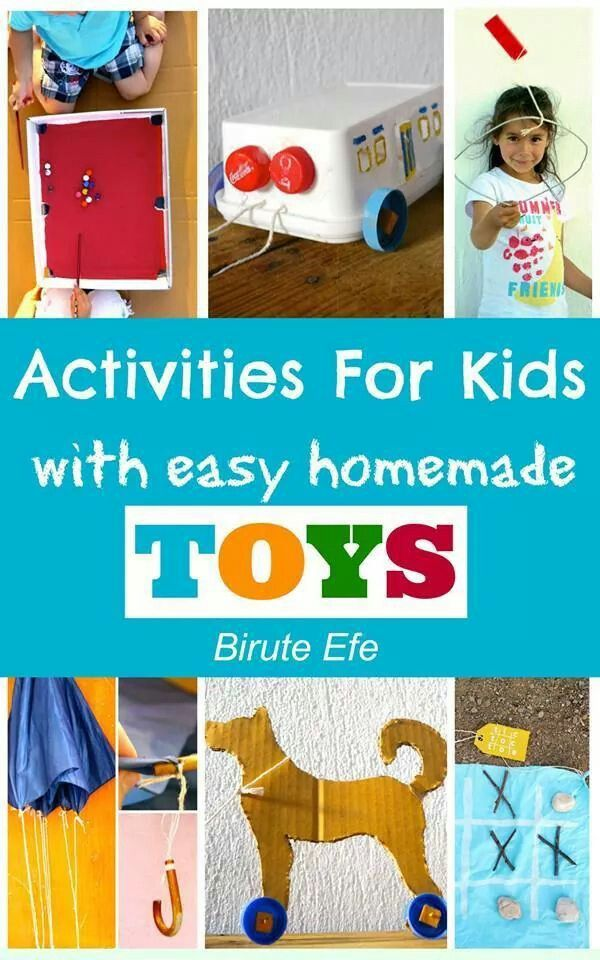 Homemade toys activities and crafts for kids pinterest for Simple toy motor project