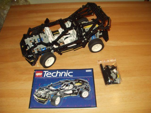 Lego 8880 super Car