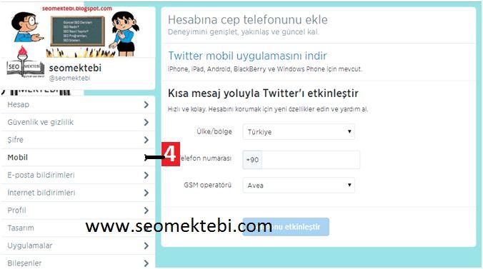 Twitter Tüm Profil Sayfası Ayarları