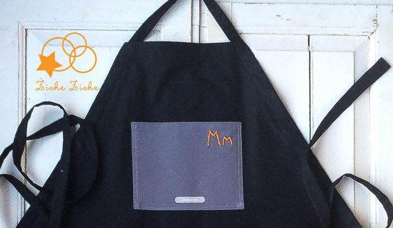 Grembiule uomo - grembiule cuoco - grembiule artigiano - grembiule falegname - grembiule nero