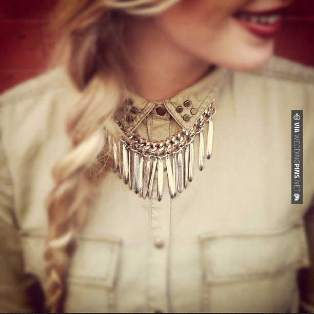 Yes - Chloe and Isabel fringe necklace   CHECK OUT MORE IDEAS AT WEDDINGPINS.NET   #weddings #weddingrings #weddingbling #weddingjewelery #events #forweddings #iloveweddings #romance #rings #planners #jewelery #ceremonyphotos #weddingphotos #weddingpictures