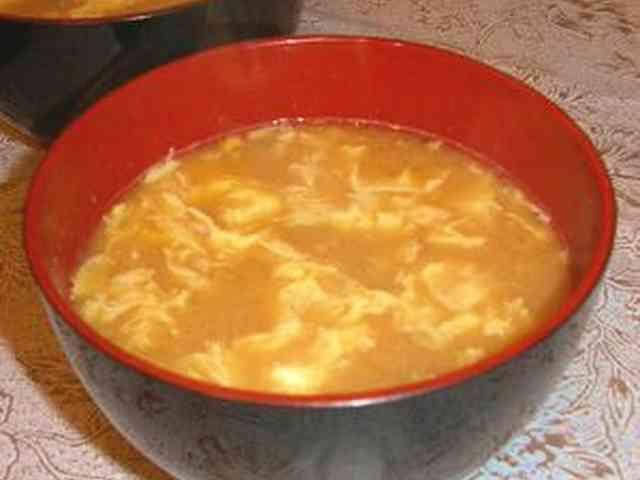 すごくおいしい!納豆とたまごのお味噌汁の画像