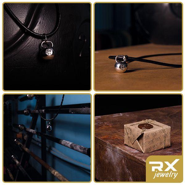 Кулон гиря : Подвеска-кулон серебряная гиря - Sport RX Jewelry - Спортивные ювелирные украшения