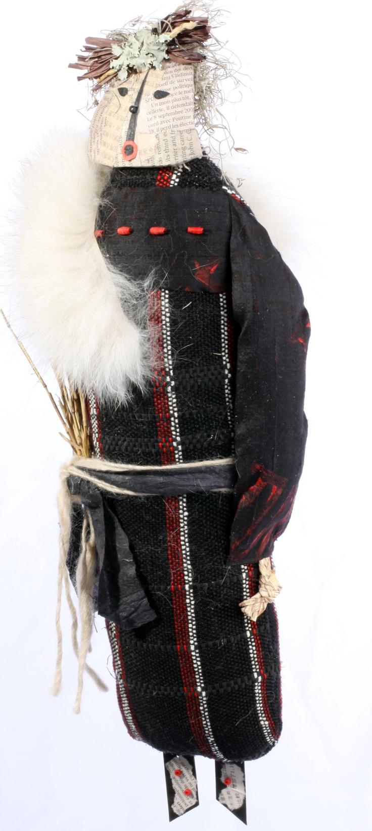 handwoven spirit doll.....Barbara Bussolari