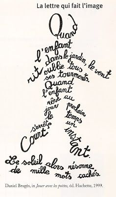 calligrammes - Google Search