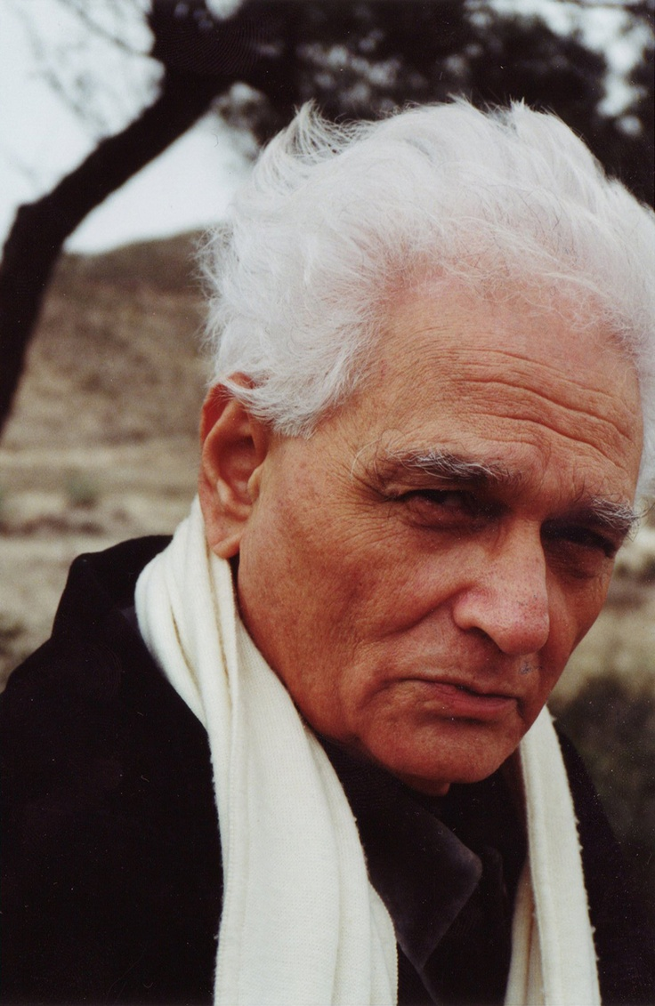 Jacques Derrida was a French philosopher, born in Algeria (1914-1996). Derrida is best known for developing a form of semiotic analysis known as deconstruction, which he discussed in numerous texts.