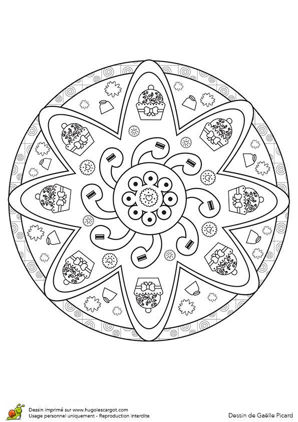 Mejores 21 imágenes de Mandalas para colorear en Pinterest ...