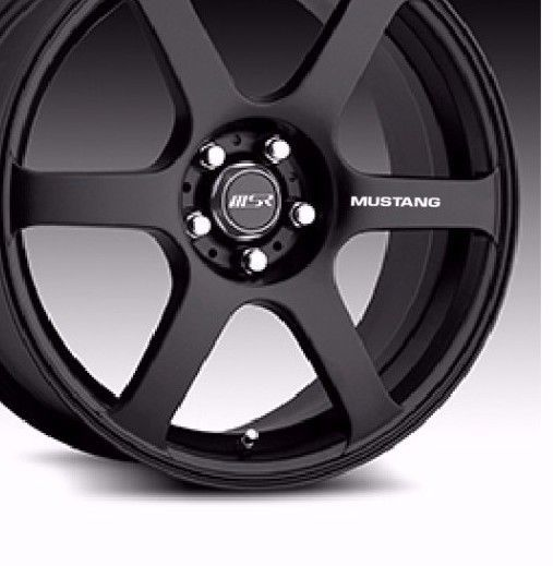 FORD MUSTANG WHEEL DECALS (SET OF 4) | eBay Motors, Parts & Accessories, Car & Truck Parts | eBay!