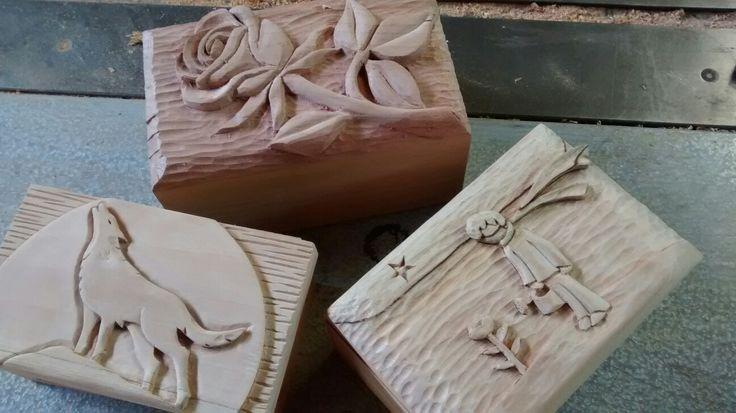 """Cajas de madera """"Acanto"""" Carpintería fina. Hidalgo #1100 col. Dolores  Oaxaca, México"""