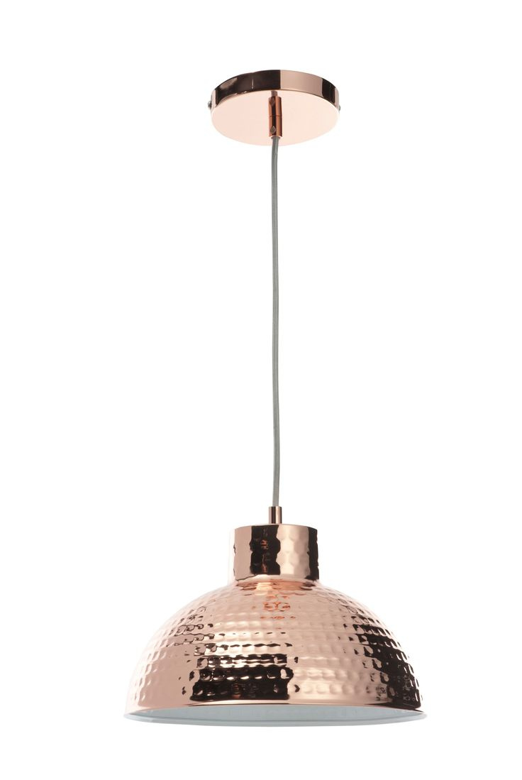 hammered copper lighting. casa couture alessandra hammered copper pendant lighting