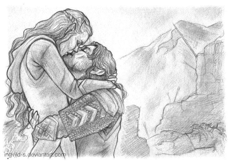 Kili and Tauriel - Then they lived by Ingvild-S on DeviantArt