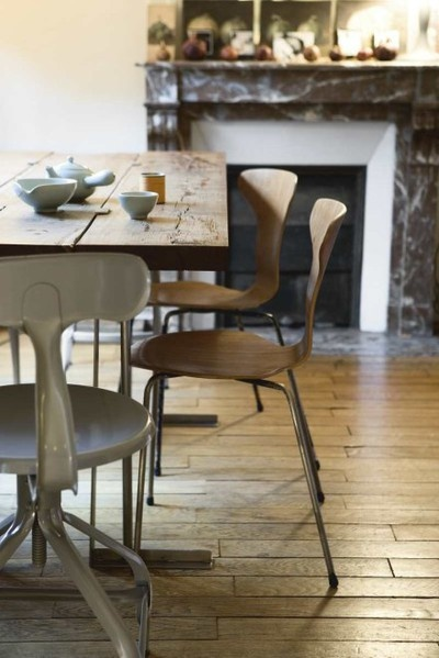Chair mix + Rustic table