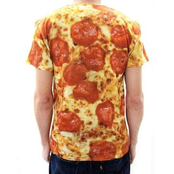 Pepperoni Pizza Shirt By Pizza Shirt