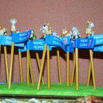 idea gadget per bambini con ringraziamento per festa di compleanno a tema www.sweetwedding.it