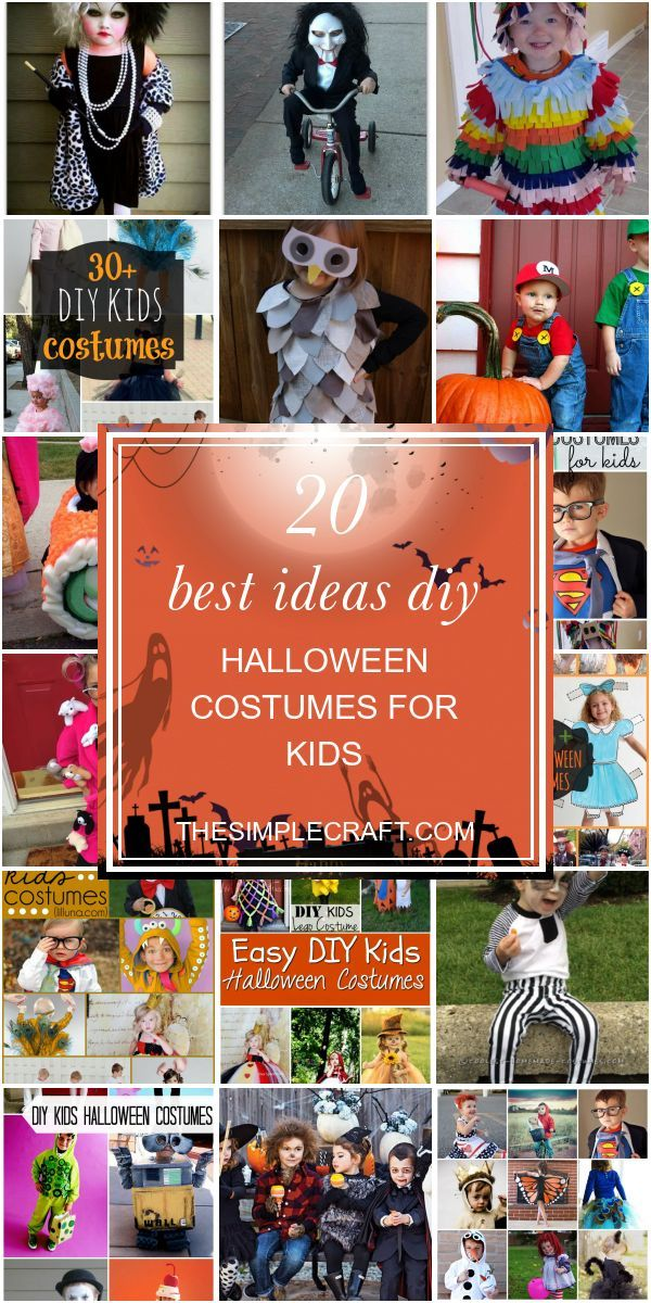 20 Best Ideas Diy Halloween Costumes for Kids – Home Inspiration and Ideas | DIY…