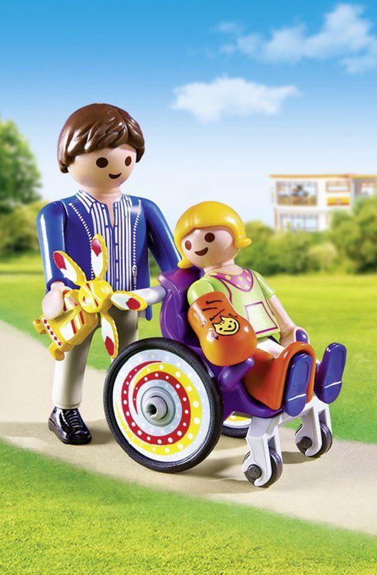 Playmobil Kind in rolstoel - 6663