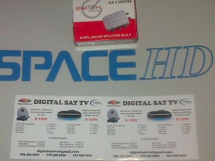 ACCREDITED DSTV INSTALLERS CALL NOW 0633672998 Our services offers-EXPLORA / HD PVR upgrades-HD installations / openview Hd-Extra view setups / tv points-Dish relocations / Reinstallations-Signal loss