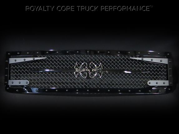 Chevy 2500/3500 2015-2017 RC3DX Innovative Grille   2015-2017