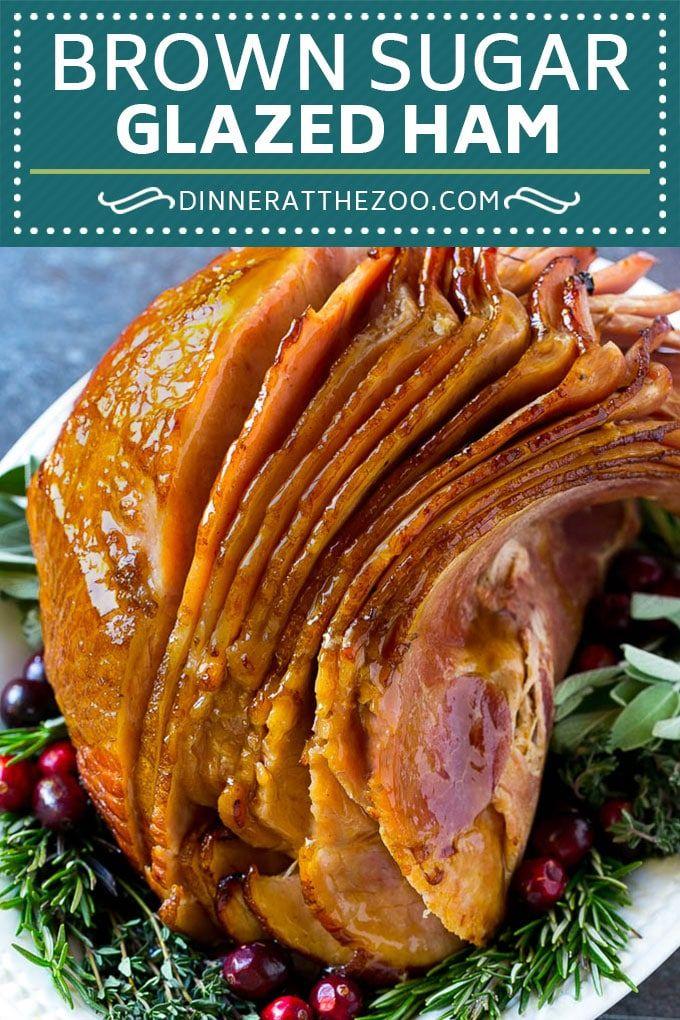 Brown Sugar Glazed Ham Recipe Holiday Ham Ham Glaze Christmas