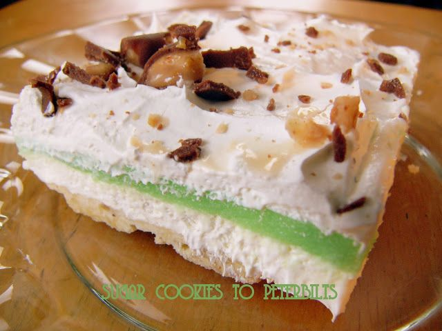 An old family favorite ... Sugar Cookies to Peterbilts: Pistachio Torte