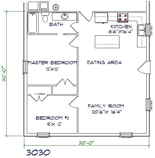 Best 25 30x40 pole barn ideas on pinterest pole for 30x40 barndominium floor plans