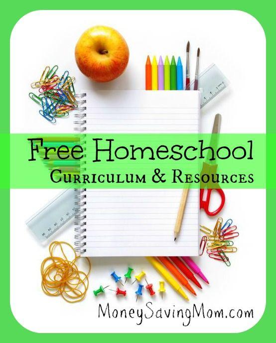 HUGE List of Free Homeschool Curriculum & Resources | Money Saving Mom®