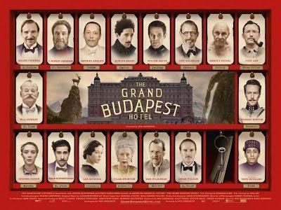 SUDANDO CINE: THE GRAND BUDAPEST HOTEL (Wes Anderson, 2014)