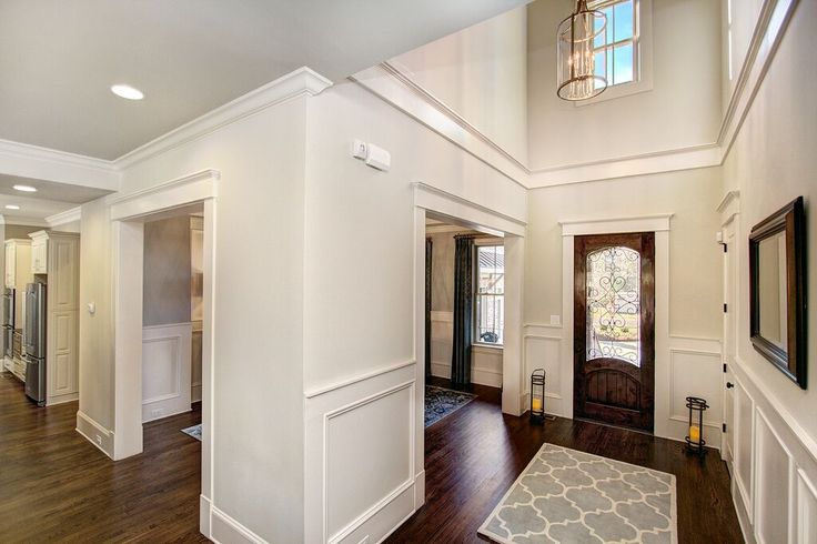 The two story foyer sets the stage for this lovely home.