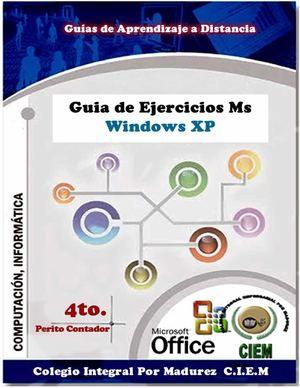 Manual de Ejercicios Practicos Para computacion en 4to Perito Contador
