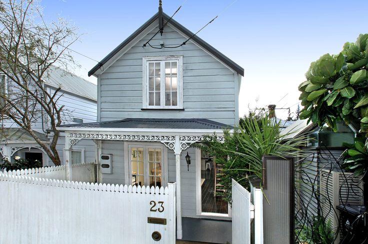 Grey blue NZ villa