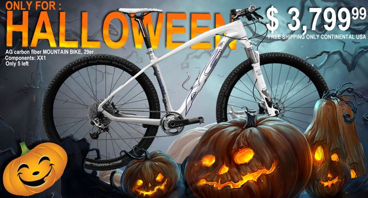 Only for HALLOWEEN. Visit: http://www.bicyclesinusa.com/product.php?id_product=158