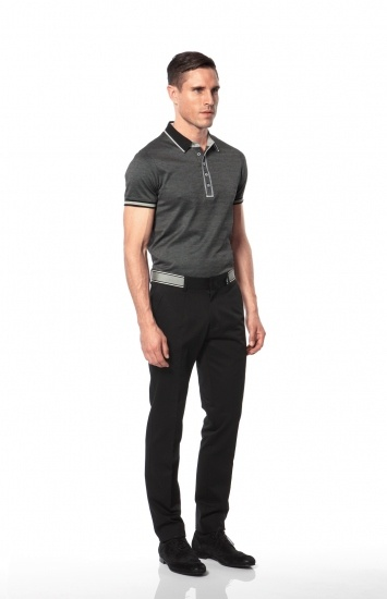Calibre - Hudson Polo | Bryant Banded Pant | Oxford Suede Lace-up