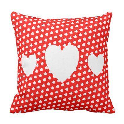 Love Hearts Cushion - baby gifts child new born gift idea diy cyo special unique design